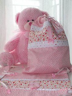Saquinhos de Roupa para Maternidade | Ateliê Ana Paula Yoshida | 220417 - Elo7