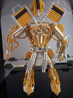 Aliexpress.com : Buy 30cm 35cm high Handmade robot Bee man ...
