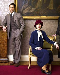 Charles Blake (Julian Ovenden) and Lady Mary Crawley (Michelle Dockery) - Downton Abbey (tv)