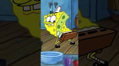 Spongebob Squarepants, Bart Simpson, Fictional Characters, Fantasy Characters, Spongebob