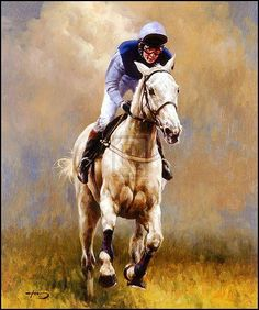 Desert Orchid with Richard Dunwoody Up. Horse Racing Uk, Race Horse Breeds, Art Handlers, Polo Horse, Horse Illustration, Racehorse, Horse Drawings, Equine Art, Horse Photography
