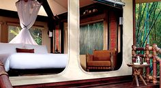 Four Seasons Tented Camp Golden Triangle, Tailândia