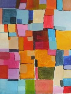 "Saatchi Art Artist Sarah Stokes; Painting, ""moving through"" #art"