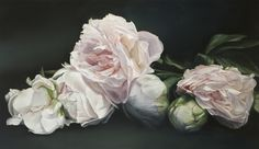 thomas darnell peonies classical 114x195cm
