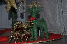 The Rudolph team new year decoration