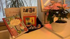 Perjantain puuhakassi. #kirjastokassi #joulukassi #lahjakassi #joulukalenteri #laureakirjasto