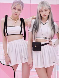 Kpop Girl Groups, Kpop Girls, Blackpink Fashion, Fashion Outfits, Mileena, Black Pink Kpop, Blackpink Photos, Jennie Blackpink, Blackpink Jisoo