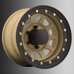 Wheel Stealth Daytona Lock-Ring Style Steel Wheel - - Bolt Pattern - Back Spacing -Desert Sand Jeep Wheels, Off Road Wheels, Wheels And Tires, Truck Wheels, Jeep Cherokee Parts, Jeep Parts, 4x4 Parts, Truck Parts, Jeep Jk