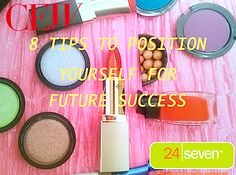 8 Best Tips To Position Yourself For Future Success In The Beauty, Fashion, Creative Industries - Annual CEW 2014 Beauty Salary, Career, Job Market Trend Report Makeup News, Marketing Jobs, Creative Industries, Helpful Hints, Fashion Beauty, Career, Eyeshadow, Hair Beauty, Success