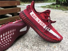 """women's yeezy boost 350 """"zebra red"""" by yeezyboost Gucci Shoes Sneakers, Sneakers Fashion, Header, Girls Basketball Shoes, Shoe Gallery, Shoe Company, Yeezy Shoes, Free Shoes, Blazer Fashion"""