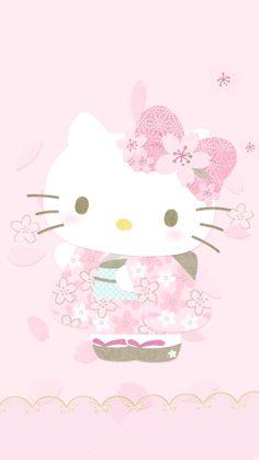Hello Kitty Kimono Wallpaper