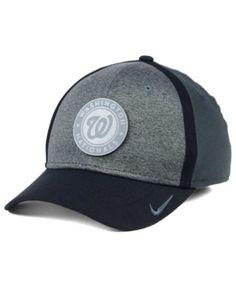 724a16b843bfd Nike Washington Nationals Reflective Swooshflex Cap - Gray L XL Washington  Nationals