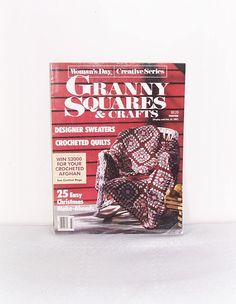 Granny Squares & Crafts Magazine Woman's Day Creative Series Retro Issue Crochet Christmas Ornaments Patterns DIY Crafts And Home Decor by ICreateAndCollect on Etsy