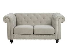 The Charlietown sofa makes no compromise on style or quality. Elegantly presented, this tufted sofa featuring rolled arms offers a cozy and elegant look to your living area and is an excellent choice for those who enjoy a more traditional style. - See more at: http://danskemobler.co.nz/product/1611-Charlietown-2-Seater-Sofa#sthash.hGkd0Jkd.dpuf