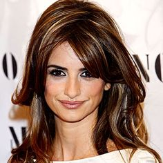 low lights and highlights for fine hair | Foil Pattern help: Penelope Cruz highlights?