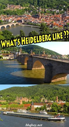 What's Heidelberg REALLY like? I cover that in this post #bbqboy #Heidelberg #Germany #travel