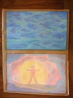 How to Do Waldorf Watercolor Painting Wet On Wet Painting, Waldorf Curriculum, Third Grade, Grade 3, Chalk Drawings, Old Testament, 5th Grades, Family Kids, Art Therapy