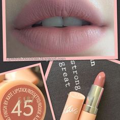 The perfect rosy, slightly mauve nude!