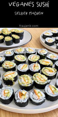 veganes Sushi einfach selber machen #veganesshushi #sushi #vegan #sushiselbermachen #fraujanik #ikea #ikeaschweiz Ikea, Cheesecake, Meals, Healthy Desserts, Vegane Rezepte, Vegan Sushi, Ikea Co, Cheesecakes