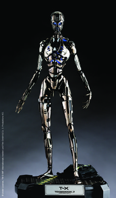 The Cyber Research Systems Model T-X[1], or T-X Terminatrix[2][3], is an advanced model of Terminator succeeding the T-950 and produced by Skynet in an alternated timeline created from the first attempted assassination of John Connor. One unit was dispatched by Skynet into the past in order to terminate John Connor and his lieutenants while ensuring no one in the CRS could shut down Skynet during its activation.