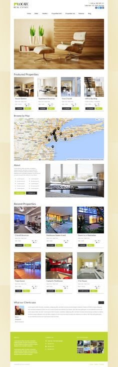 Locate - responsive WordPress Real Estate Theme with grid & list presentation of your properties, google maps integration, and many real estate shortcodes. More information and download: http://7theme.net/downloads/locate-wordpress-real-estate-theme/