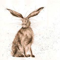 PR006 - Good Hare Day | Wrendale Designs
