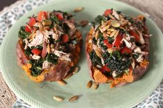 PALEO: Grilled Chipotle Chicken Sweet Potatoes & Our Whole30 Experience So Far — Bare Root