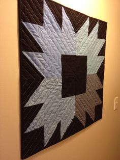 Big stitched wall hanging