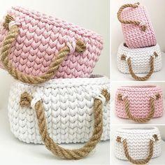 #crochetbasket #pink #white #marshmallow #rope #cottoncord #cukierkowy #kolorowy #dladomu #dladzieci #pianki #sznurekbawełniany #crochet #crochetersofinstagram #szydełko #livingcrochet #häkeln #uncinetto #ganchillo #dawanda #dawandashop #dawandapl #dawanda_pl #thepolishcollective #rękodzieło #handmade #polishhandmade