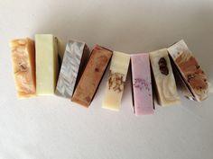 Handmade soap arrangement