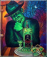 absinthe art | Absinthe, The Two Muses | Absinthe