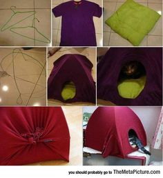 How To Easily Make A Kitty House