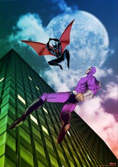 Batman beyond vs phantom 2040
