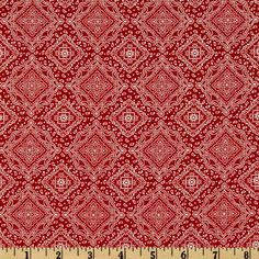 Online Shopping for Home Decor, Apparel, Quilting & Designer Fabric Red Bandana, Red Accents, Red Background, Fabric Swatches, Print Patterns, Bohemian Rug, Quilts, Diamonds, Sewing Ideas