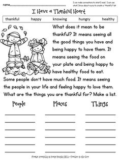 Thankful for nouns people/places/things Thankful+Heart+Freebie+from+Teacher+to+the+Core. First Grade Writing, First Grade Reading, Nouns First Grade, Second Grade, Thanksgiving Activities, Thanksgiving Writing, Holiday Activities, Thankful Heart, Writing Activities