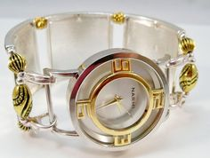 Ladies Watch with Interchangeable Watch Band Silver by babbleon, $35.00