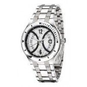 Morellato Gents Watch Analogue Quartz, Stainless Steel, Silver Dial, Silver Strap