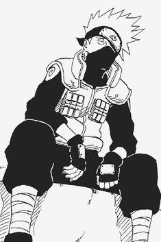 Kakashi Hatake ♥w♥ Naruto Kakashi, Anime Naruto, Manga Anime, Naruto Shippuden Anime, Naruto Art, Boruto, Naruto Sketch, Naruto Drawings, Wallpaper Naruto Shippuden