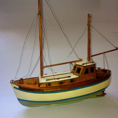 A model boat my grandad made