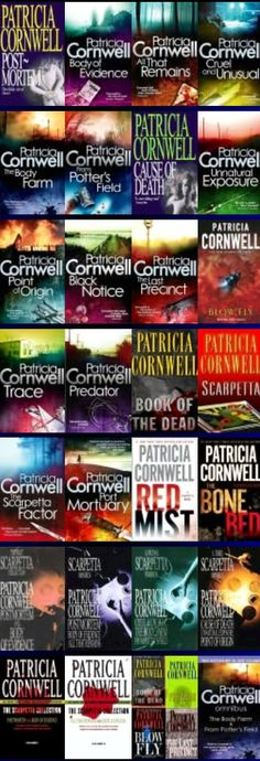 Author: Patricia Cornwell / Kay Scarpetta Series