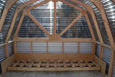 Ana White | Build a Barn Greenhouse | Good tutorial for a nice-looking DIY greenhouse