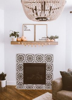 easy fall fireplace