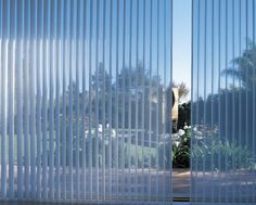 Our Luminette® Privacy Sheers from Hunter Douglas are a solution for wide expanses like large windows and sliding-glass doors.