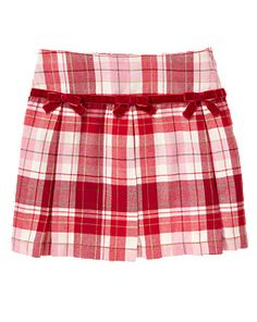 02edaf3720 Bow Pleated Plaid Skort Holiday Outfits, Holiday Clothes, Gymboree, Skort,  Toddler Outfits