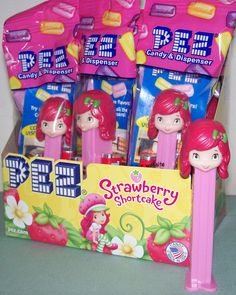 10+ct+Strawberry+Shortcake+Pez+Party+Favor+Pack+MIB+-+$22.00+:+Pez+Collectors+Store,+The+Ultimate+Pez+Shopping+Site!