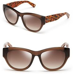 Dior Flanelle Cat's Eye Sunglasses - Lyst