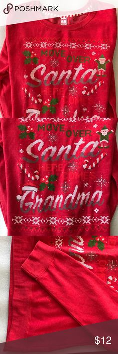Holliday Time Sweat shirt New and so soft Holliday Time Tops Sweatshirts & Hoodies