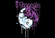 SPLITREASON.COM - Terraria - Bunny Ying Yang t-shirt