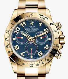 Rolex Cosmograph Daytona Watch: Yellow Rolesor - combination of 904L steel and 18 ct yellow gold – M116523-0040