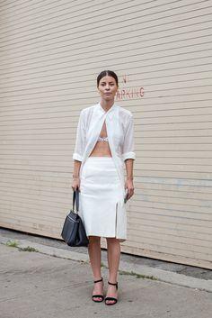 Annina Mislin, Associate Fashion Editor at C Magazine via @stylelist  #NYFW #ss15